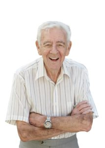 Geriatric male speech therapy services